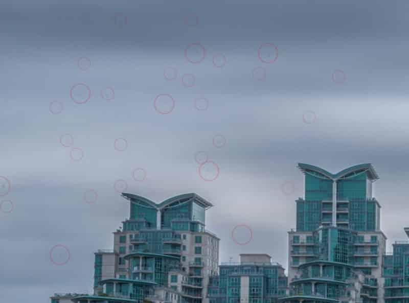 MANCHAS DEL SENSOR - Una guía paso a paso para comprobar si su sensor de cámara está sucio