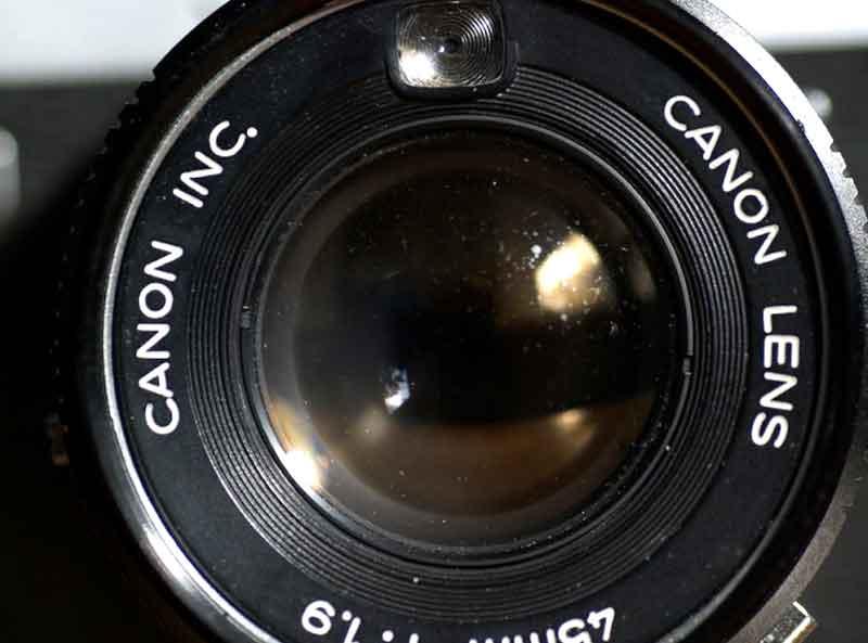 lente sucio - Cómo limpiar una lente de cámara